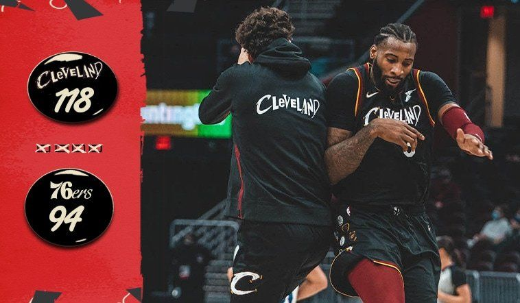 Cavaliers Maul Sixers at Home, Stay Perfect | Cleveland Cavaliers